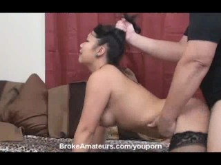 Cute Asian amateur facial