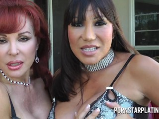 Lesbian Milfs Ass licking and Machine fuck – Ava Devine and Sexy Vanessa