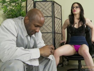 Therapist Prescribes Her BBC Client Pussy As The Remedy