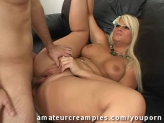 Julie on Amateur Creampies