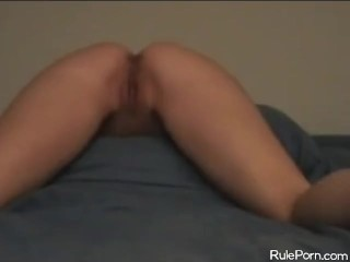 Ass Fucked After Pulling Out A Buttplug