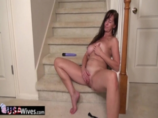 USAWives both holes masturbation