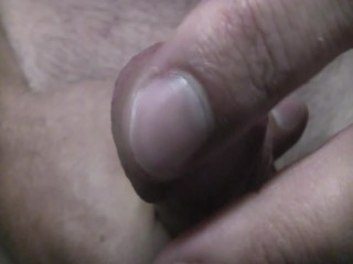 lubed up jerking part 1