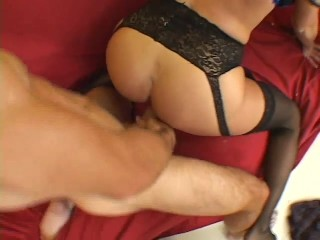 Big titted MILF gets fucked by two studs – Pandemonium