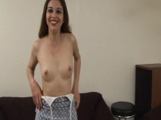 Eva takes a huge black cock and get deppethroated