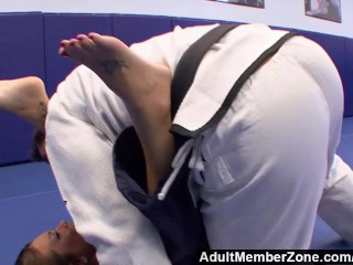 Adultmemberzone – The judo teacher also gives her great fucks