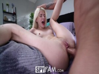 SPYFAM Masturbating Is Not Enough For Step Sis