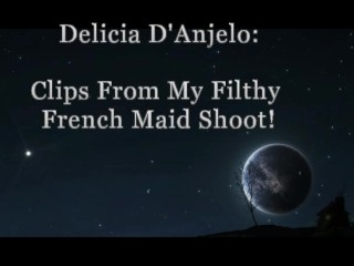 Delicia D'Anjelo's Filthy French maid Clip