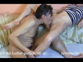 Real Skinny Cute Wife Live TV Show Part2/6 Bj Queen Sylvia*Sucker*Chrystall