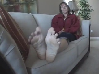 Horny compil mature soles