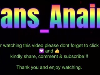 Hot Trans Anairb sexy dance exercise & get naked while dancing