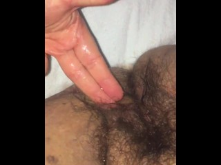 Natural bbw gushes and squirts