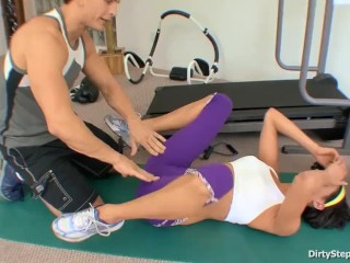 Stepsis Needs More Help In Fucking Than Exercising