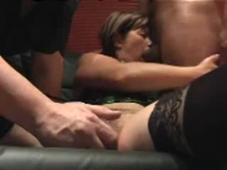 Wife Sucks Black Cock While I Toy Her Pussy