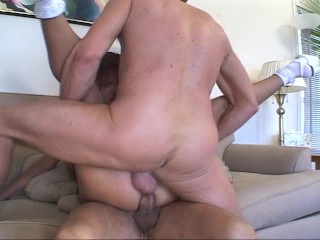 Latina lovely fucks two at a time