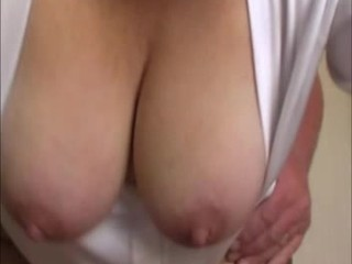 bouncing and swinging tits frontal doggy action
