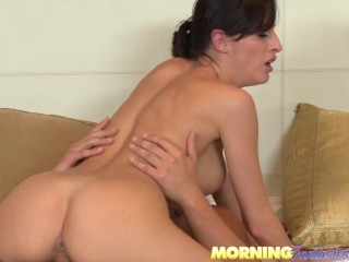 Morning Wood turns into an amazing Morning Sex
