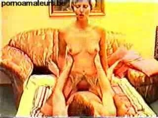 Marion and her husband fucking for home video