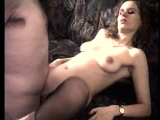 Brunette babe gets fucked in all holes – Shots Video