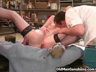 Sex at work with hot secretary