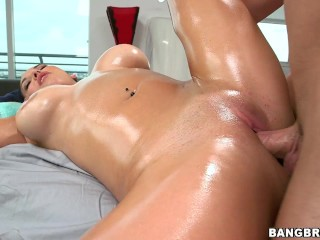 Latina Pornstar Missy Martinez Receives Deep Massage On Her Big Ass