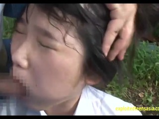 Jav Schoolgirl Ambushed Taking A Piss And Fucked Hard With Squirting Outdoors