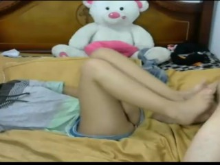 Stepsister gets fucked on cam