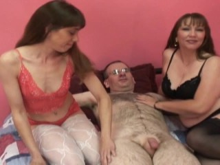 old and young groupsex video