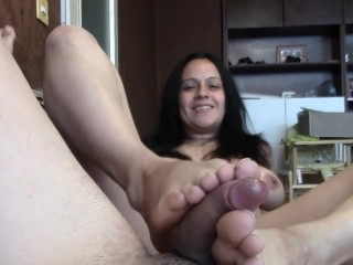 cum on my feet fuck (spanish)