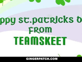 GingerPatch – Slutty Redhead Gets Filled On St. Pattys Day