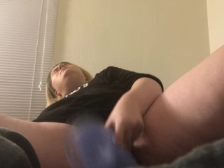 MILF Takes 12 Inch Dildo In Wet Pussy