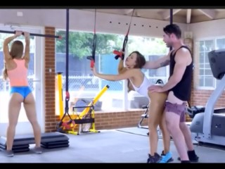 Threesome Gym – A Lucky Trainer