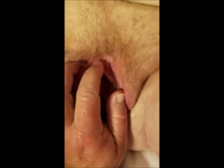 BBW Granny's Pussy Rubbed and fingered