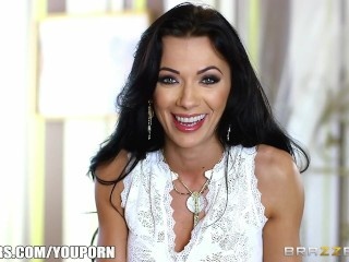 Hot milf Shalina Devine takes some big dick – Brazzers