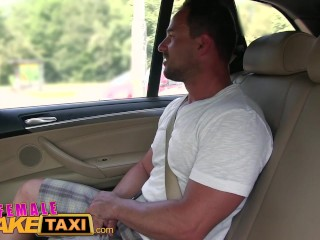 FemaleFakeTaxi Massive tits cabbie wants cock on the backseat