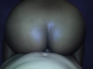Indian hotwife pulling on balls with ball stretcher on