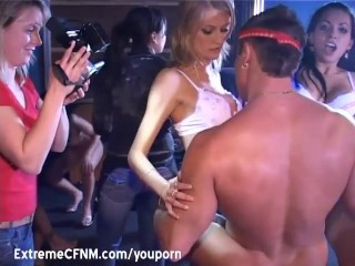 Its Party time camera women films sex show