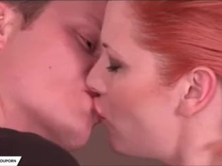 Redhead Genny Red Takes Cock Doggystyle