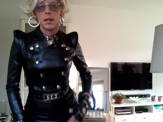 Sissy in LEather