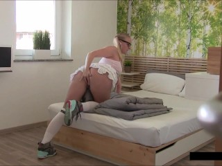naughty-hotties.net – the peeping uncle quickie – massive facial.mp4