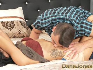 DaneJones Horny tattooed Russian in stockings fucked in many positions