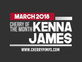 Kenna James is Our March Cherry of the Month