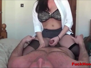 Lactating Mom Gets Her Big Titties Sucked & Pussy Fucked