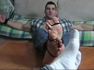 Sockgagged and Tickled