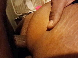 BBC makes her clit jump when she CUMS (Extended Clip)
