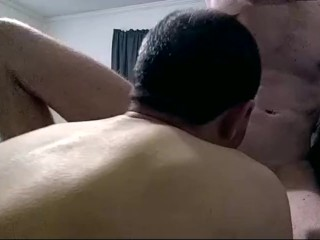 Go downtown, suck it good, hot oral on muscle boy twink