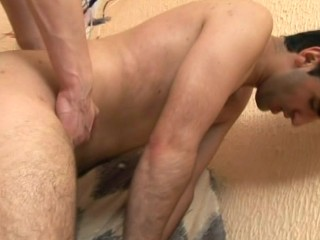 Gay barebacking and cum in mouth – Alfa Red