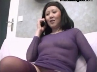 Japanese Slut Wife Fucked Hard in All Holes by BBC on WifeSharing666com