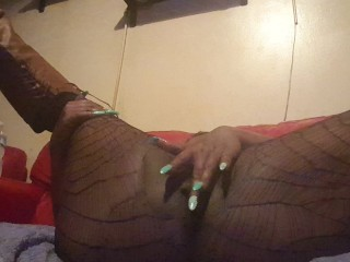 Big Black Pussy Squirting On The Camera