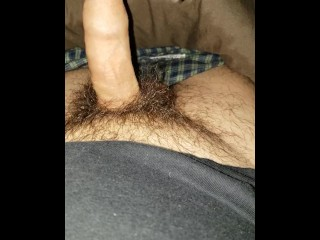 Lubing up a dry cock